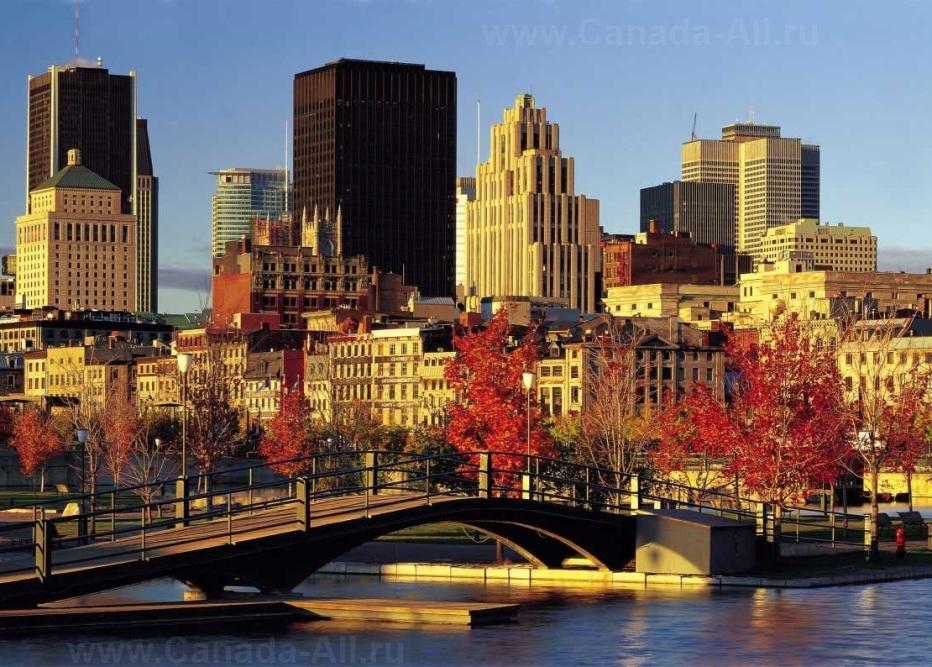 фото городов канада