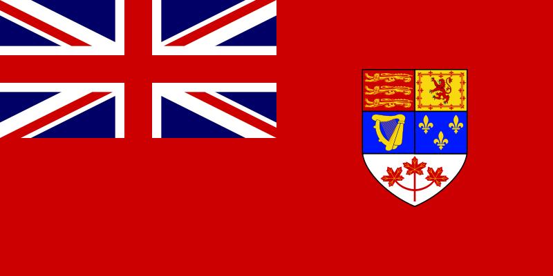 История флага Канады 1957-1964 гг.